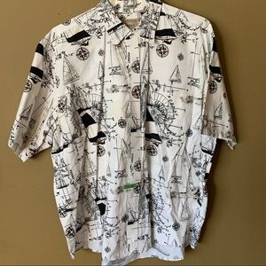 Natural issue button-down -XL $15